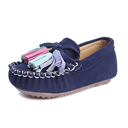ef51ca5ea78 KEESKY Slip On Little Girls Shoes Size 11 Navy Blue Shoes for Birthday Girl   Amazon.ca  Shoes   Handbags