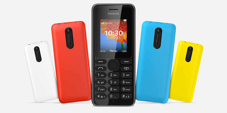 Handy Nokia 108 Ds Schwarz Elektronik