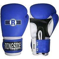 Ringside Pro Style guantes de entrenamiento de boxeo Kickboxing, Muay Thai y Gel sparring boxeo