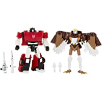 Transformers Toys Generations Kingdom Battle Across Time Collection Deluxe Class WFC-K42 Sideswipe & Maximal Skywarp…
