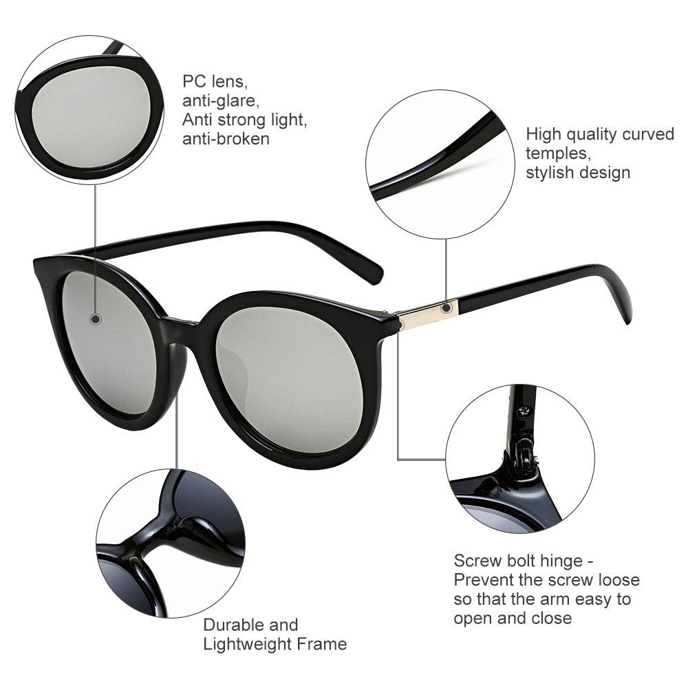 Diamond Candy Women\'s UV400 UV Protection Eyewear Goggles Sunglasses