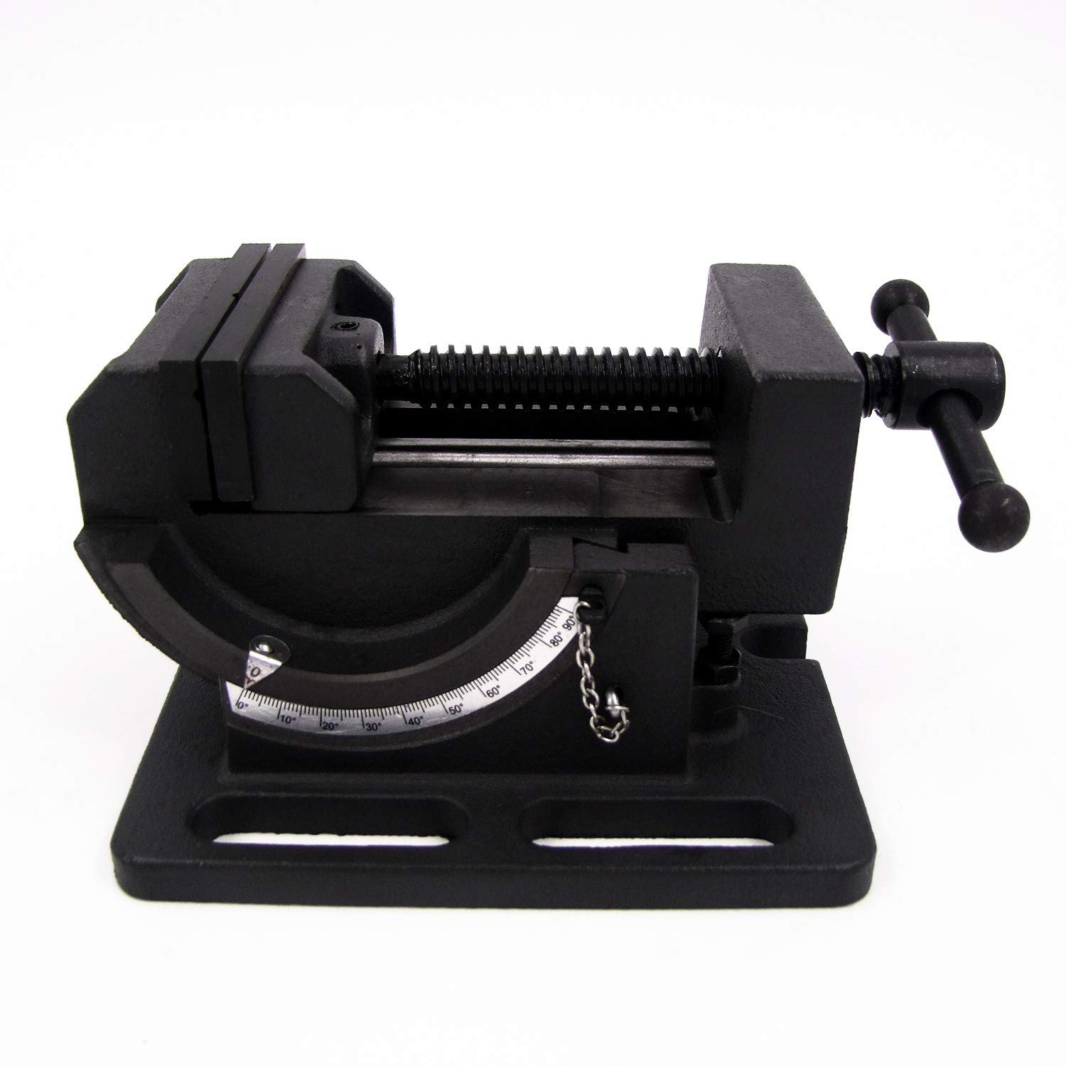 HFS (R) Cradle Style Angle Drill Press Vise (4'')