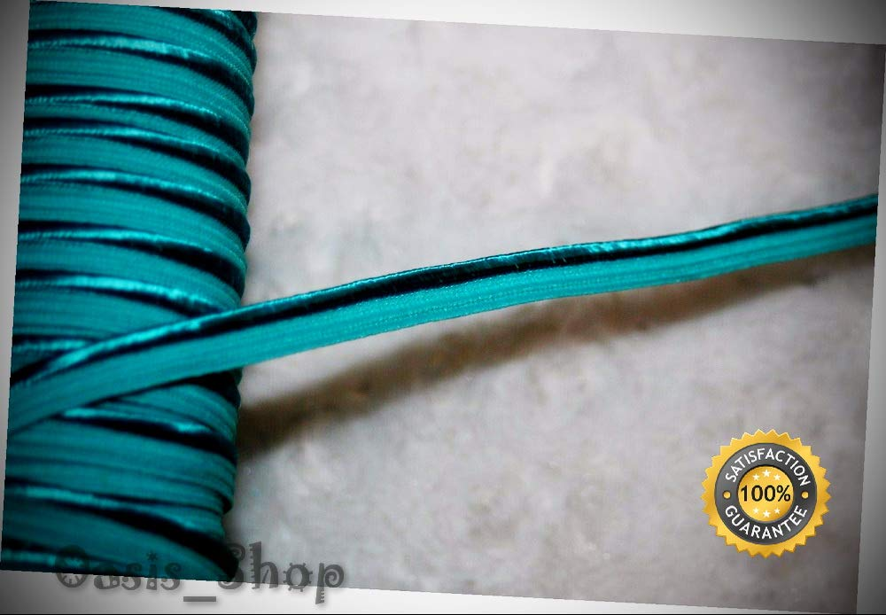 Lot 14.5 Yards Turquoise Thin Lip Cord Piping Upholstery Trim 1/8'' 3/16'' u466 - Ribbon Lyrical Dance Costumes, Sashes, Headbands by Oasis_Shop