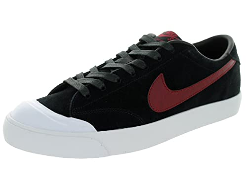 lowest price 1a6b6 d495d Nike Zoom All Court CK, Zapatillas de Skateboarding para Hombre, Negro/Rojo/