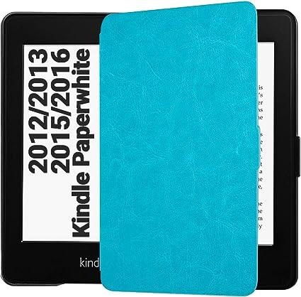 Easyacc Hülle Für Kindle Paperwhite Ultra Dünn Schutzhülle Mit Sleep Wake Up Funktion Kompatibel Mit Kindle Paperwhite Für Vorgängermodelle Von 2012 2013 Und 2015 Blau Kindle Shop
