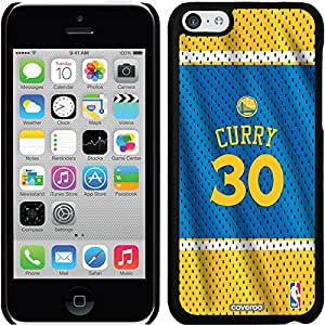 Coveroo iPhone 5 5s Black Thinshield Snap-On Case with Stephen Curry Road Jersey Back Design