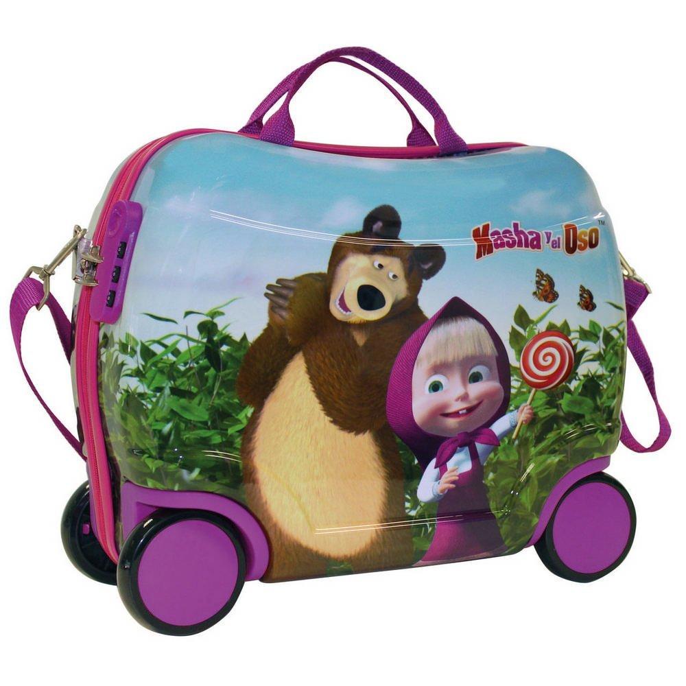 Masha Sitzkoffer und Der Bär Kindergepäck, 25 Liter, Rosa