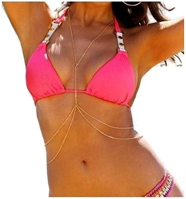 achat le plus récent code de promo artisanat de qualité neline® Corps chaîne Bijou Sexy, Fashion Golden Belly Ventre ...