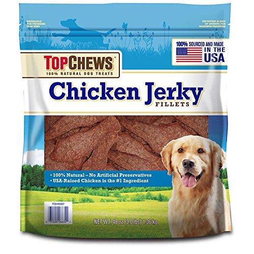 Top Chews Chicken Jerky 48oz (2 Pack)