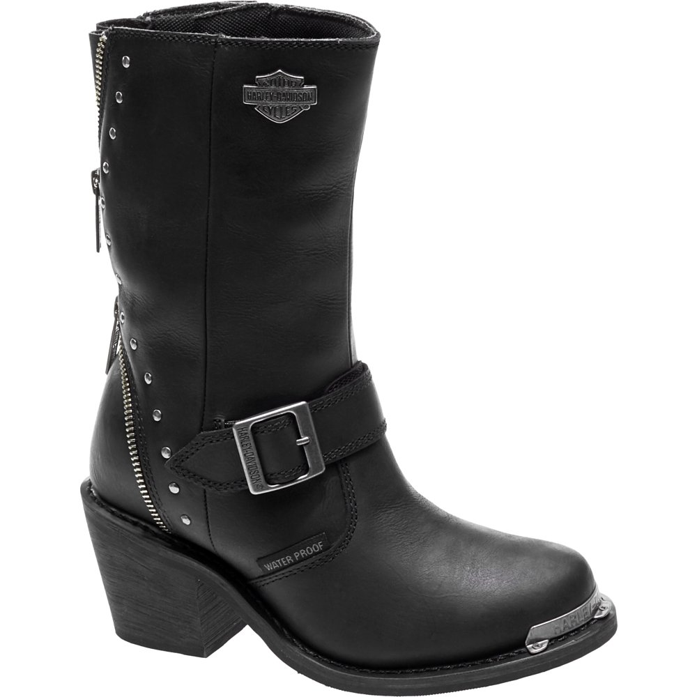 Harley-Davidson Women's Rosanne Waterproof Motorcycle Riding Boots B072BMS7HY 9.5 B(M) US