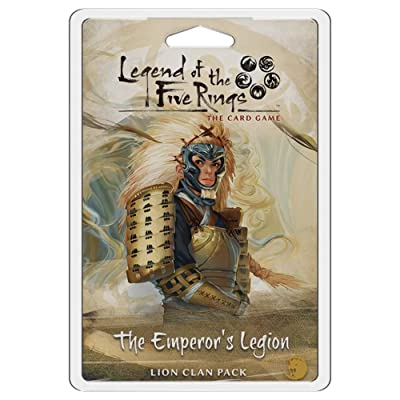 Legend of The Five Rings LCG: The Emperor's Legion Clan Pack: Toys & Games