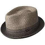 Bailey of Hollywood Men's Hooper Fedora, Charcoal, X-Large