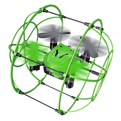 Enjoydeal Mini Drohne Quadcopter, 2,4 GHz 4CH 6 Axis mit Höhenstabilisator, Headless Modus Drone kinder, Fernbedienung Sky Wa