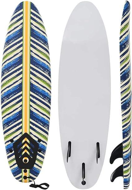 vidaXL Tabla de Surf 170 cm Deportes Acu/áticos Exterior Navegaci/ón