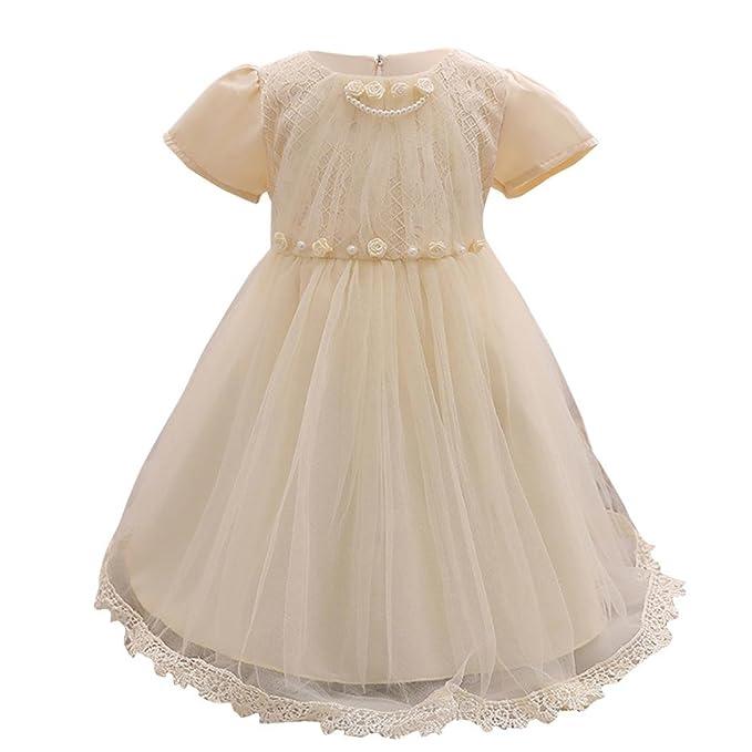 Vestido para bebé niña,Yannerr recien nacido invierno primavera Bowknot Dama de honor desfile formal