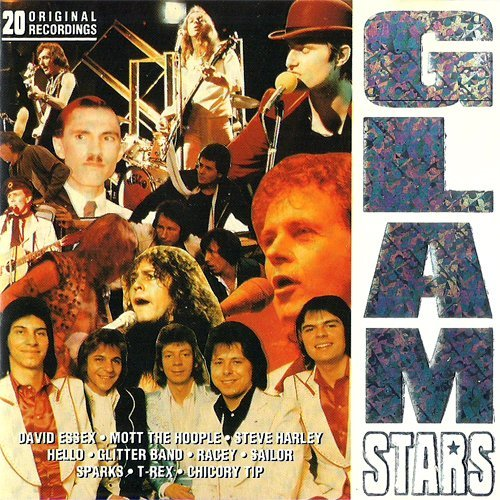 Essex Rocks Glass - Glamour Power Music (Compilation CD, 20 Tracks, Various incl. Hello - New York Groove)