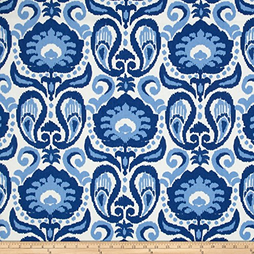 Golding Fabrics Golding by P Kaufmann Grand Ikat Blue