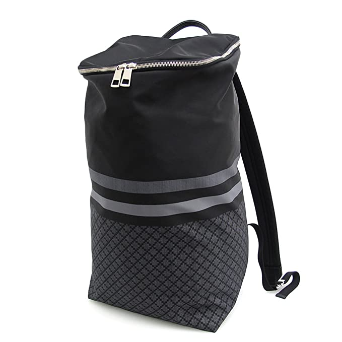 Gucci diamante Web mochila de nylon negro XL 365284: Amazon.es: Electrónica