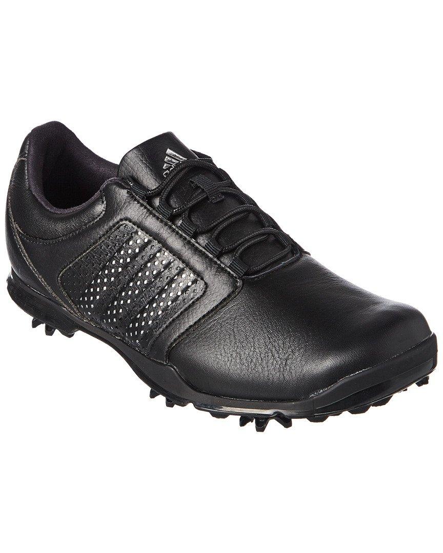 adidas Women's Adipure Tour Golf Shoe, Black, 8.5 M US