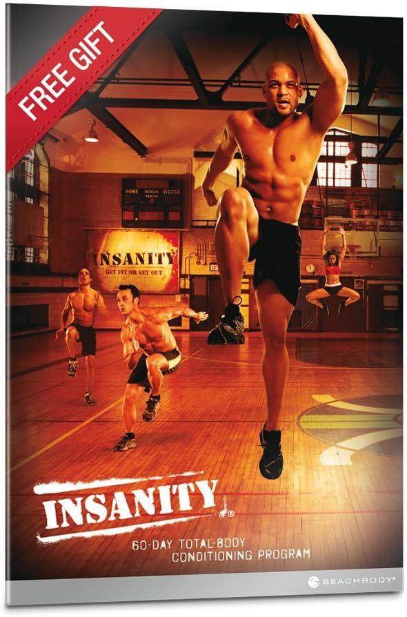 Amazon Com Insanity Base Kit Dvd De Entrenamiento Shaun T Sports Outdoors