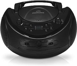 Memorex Portable CD Boombox with AM FM Radio