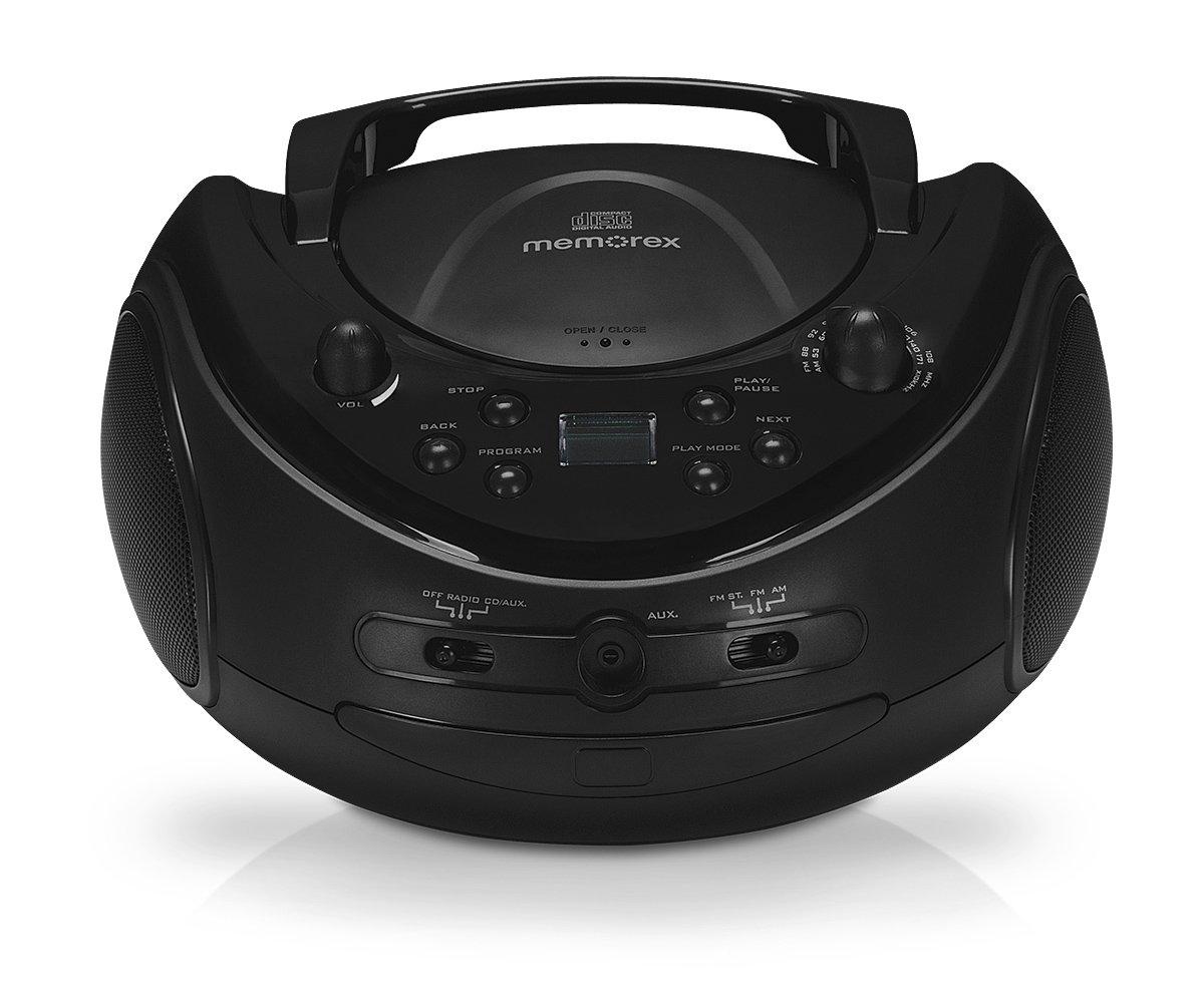 Memorex Portable CD Boombox with AM FM Radio Imation - Memorex 02810 MP3 & Media Players