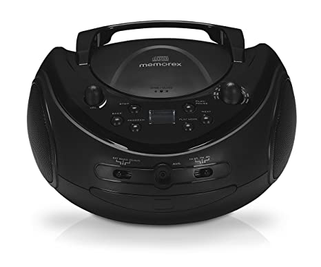 amazon com memorex portable cd boombox with am fm radio home audio rh amazon com Memorex CD Player Manual Radio Shack CD Player