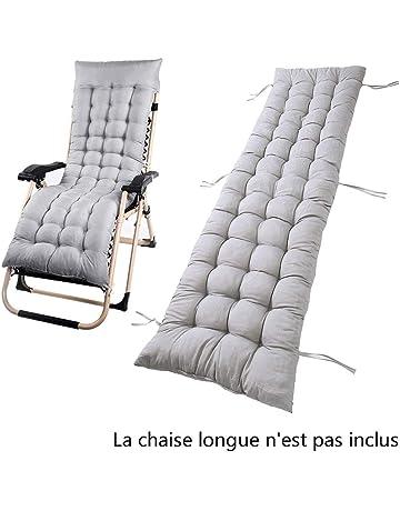 Tumbona sillón reclinable y Lounge de almohadilla cojín Patio jardín