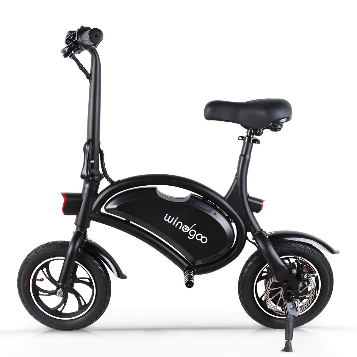 Disc Brake Electric Bike for Adults City Bicycle Max Speed 25 km//h 12 inch 36V E-bike with 6.0Ah Lithium Battery Foldable Electric Bicycle Commute Ebike with 250W Motor