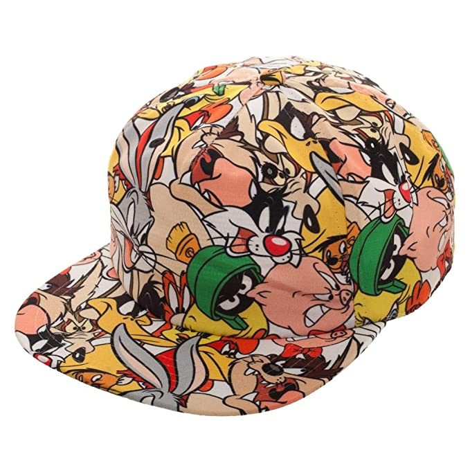 04f22bfcfe0 Image Unavailable. Image not available for. Color  Bioworld Looney Tunes  Sublimated Snapback Hat