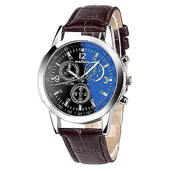 Promoción!Reloj de Cuarzo para Hombre, Reloj analógico único ...