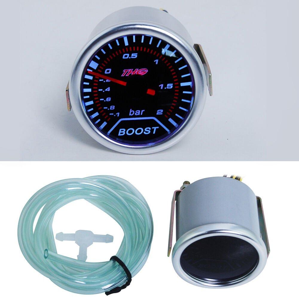 Boost THG (BAR) Medidor de 12V CC Diš¢metro: 52mm: Amazon.es: Coche y moto