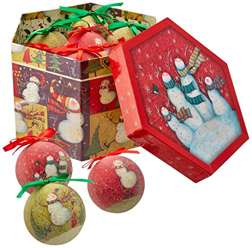 Snowman Family Ornament Box Set