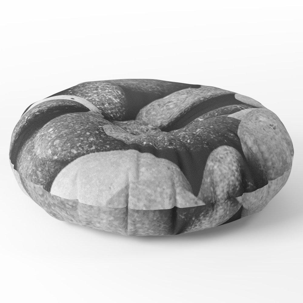 Society6 Stones Floor Pillow Round 26'' x 26''