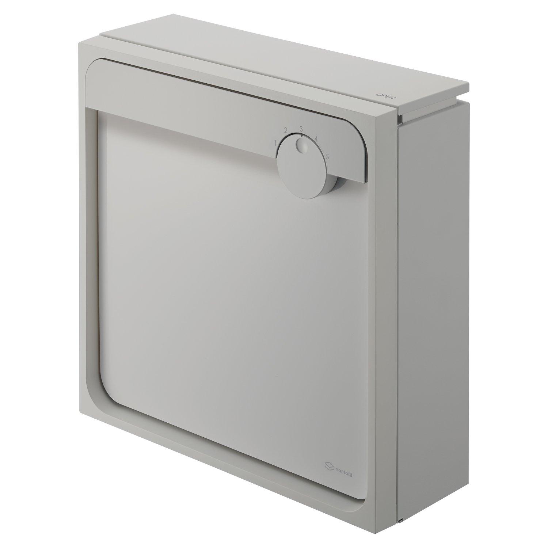Qual 大型郵便物対応戸建郵便受箱(壁付タイプ) ライトグレー×メタリックシルバー 450mm×160mm×450mm B00NHE0ERA ライトグレー×メタリックシルバー ライトグレー×メタリックシルバー
