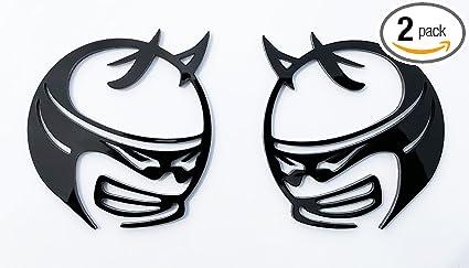 Amazon Com Custom Scat Pack Fender Emblem Badges For Dodge