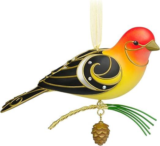 Hallmark Keepsake Ornament The Beauty of Birds Western Tanager 2015 11th #11