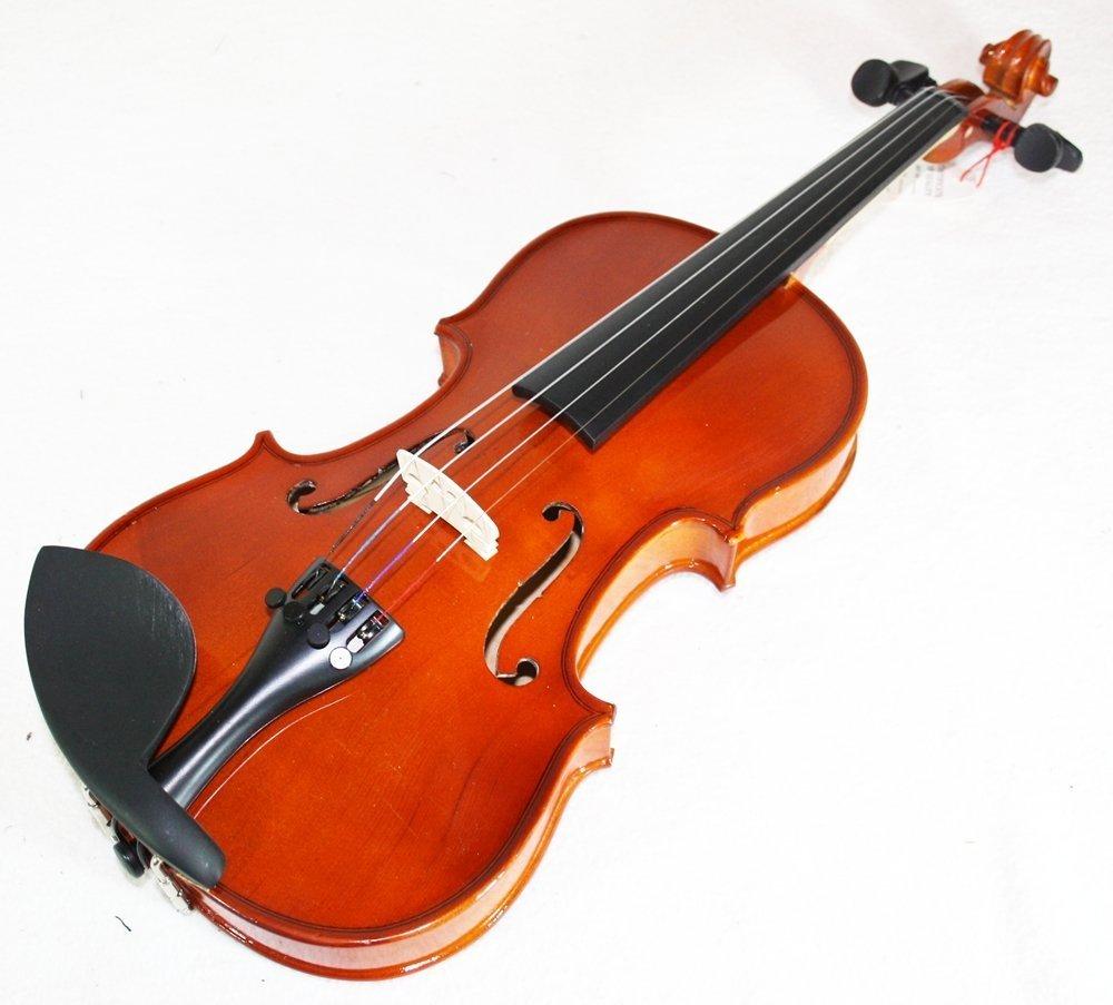 Cherrystone violín con caja de almacenamiento y el arco 1/8 marrón 0754235506508