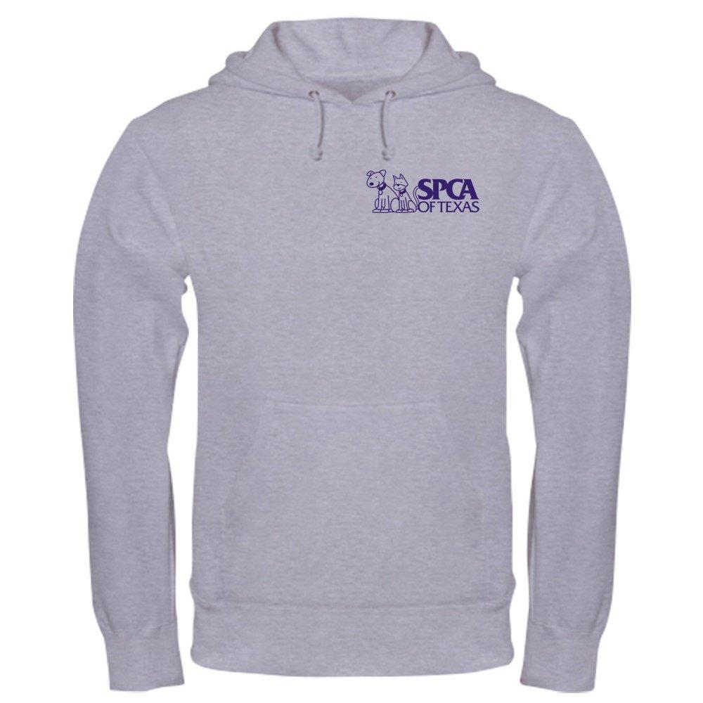 191f00f4a4 Amazon.com  CafePress SPCA of Texas Hooded Sweatshirt Sweatshirt White   Clothing