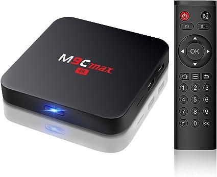 Bqeel M9C Max Android 6.0 TV Box Amlogic S905X Quad Core CPU/Mali ...