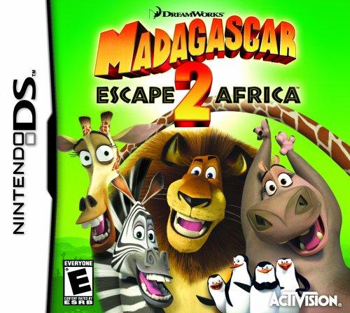 Amazoncom Madagascar 2 Escape 2 Africa Nintendo DS Artist