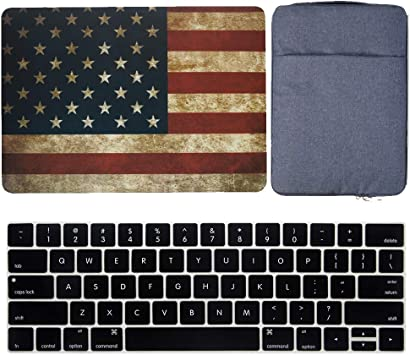 "US Flag Keyboard Cover Silicone Skin for Macbook 12/"" with Retina Model A1534"