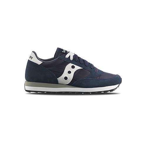 Scarpe Uomo SAUCONY 2044 JAZZ MAN Suede nylon Sneakers Autunno Inverno 2017  Blu 43 b1f8a686185