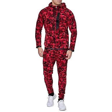 Jumpsuit bobo4818 - Chándal para Hombre Rojo XXXL: Amazon.es: Ropa ...