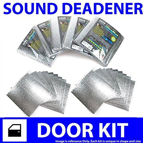 Zirgo 313868 Heat and Sound Deadener (for 95-01 BMW e38 ~ 2 Door Kit)