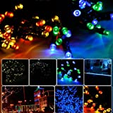 Lychee® 55ft 100LED Waterproof Solar Fairy String Lights for Outdoor Room Home Garden