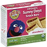 Earth's Best Organic Sunny Days Snack Bars, Strawberry, 8 Count  - 5.3 ounce  (Pack of 6)