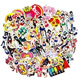 Sailor Moon Anime Girl Stickers(75pcs) Snowboard