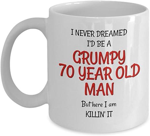 Amazon.com: Gag de 70o cumpleaños regalos para hombres ...