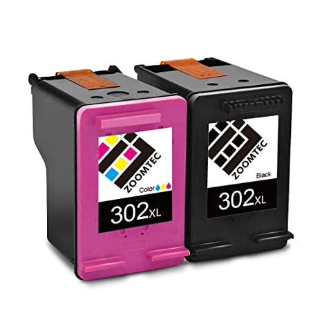 ZOOMTEC Cartuchos de Tinta 302XL (1 Negro, 1 Tricolor) Compatible ...